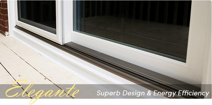 & Elegante Sliding Patio Doors CT - Superb Design Energy Saving