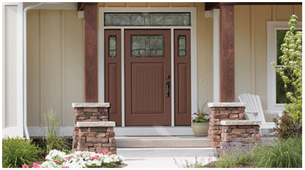 Front doors ct thermatru door affordable exterior doors for Therma tru classic craft american style collection