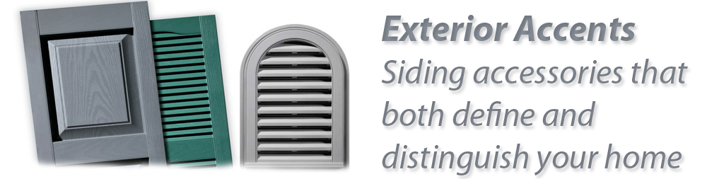 Siding Options CT Accents Shutters Mounting Blocks Vents